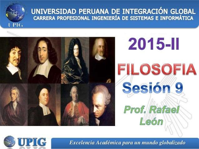 Excelencia Académica para un mundo globalizado