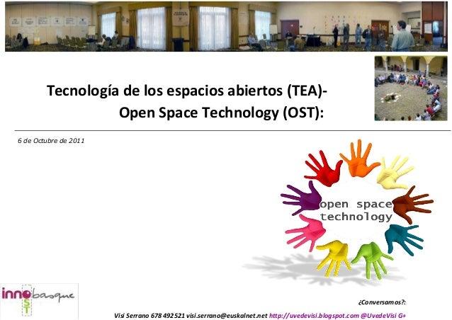 ¿Conversamos?: Visi Serrano 678 492521 visi.serrano@euskalnet.net http://uvedevisi.blogspot.com @UvedeVisi G+ Tecnología d...