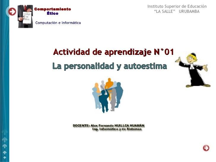 Sesion n°01 2012 ce