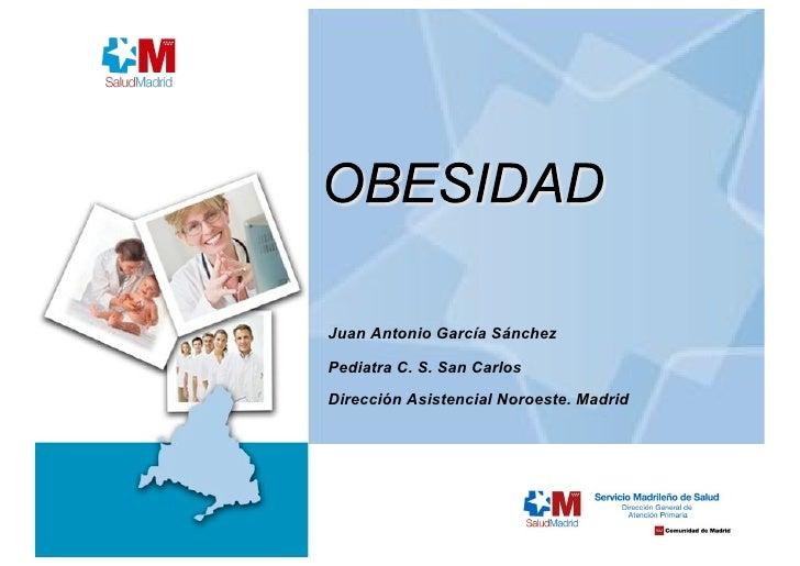 Sesión sobre obesidad [1]. Atención Primaria - H El Escorial
