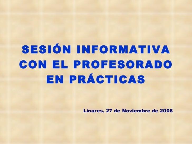 Sesion practicas inspectores_linares