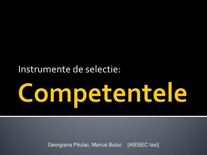 Next HR - Competentele