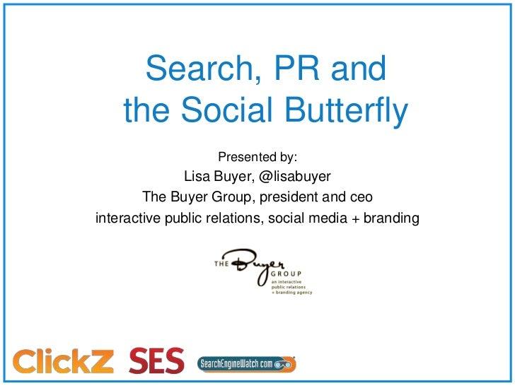 SES London 2011 Search PR Social