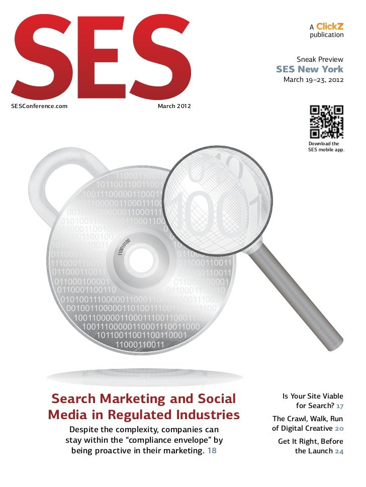 March 2012 SES Magazine: SES New York Preview