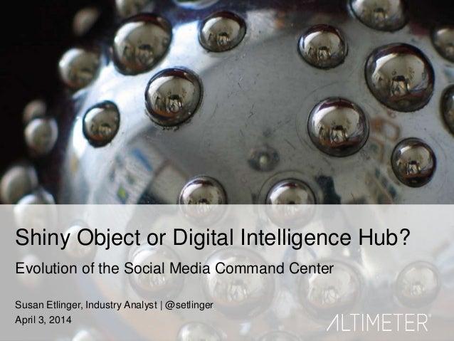 Shiny Object or Digital Intelligence Hub? Evolution of the Social Media Command Center