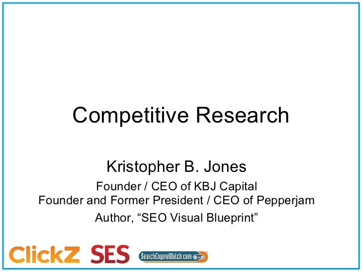 SEO Competitive Research