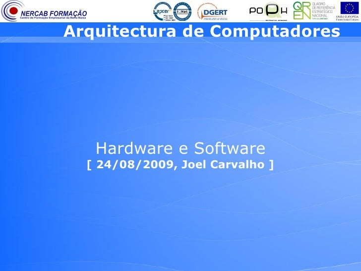 Arquitectura de Computadores 2 (EFA, 9º ano)