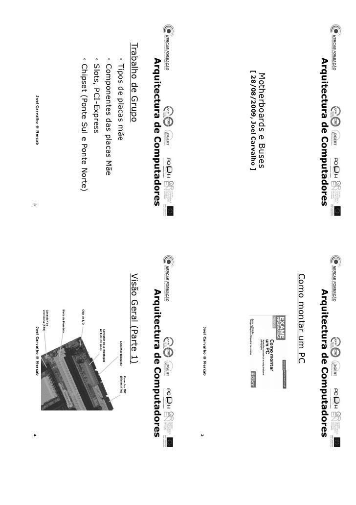 Arquitectura de Computadores 3 (EFA, 9º ano)