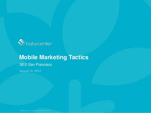 Search Engine Strategies: Mobile Marketing Tactics