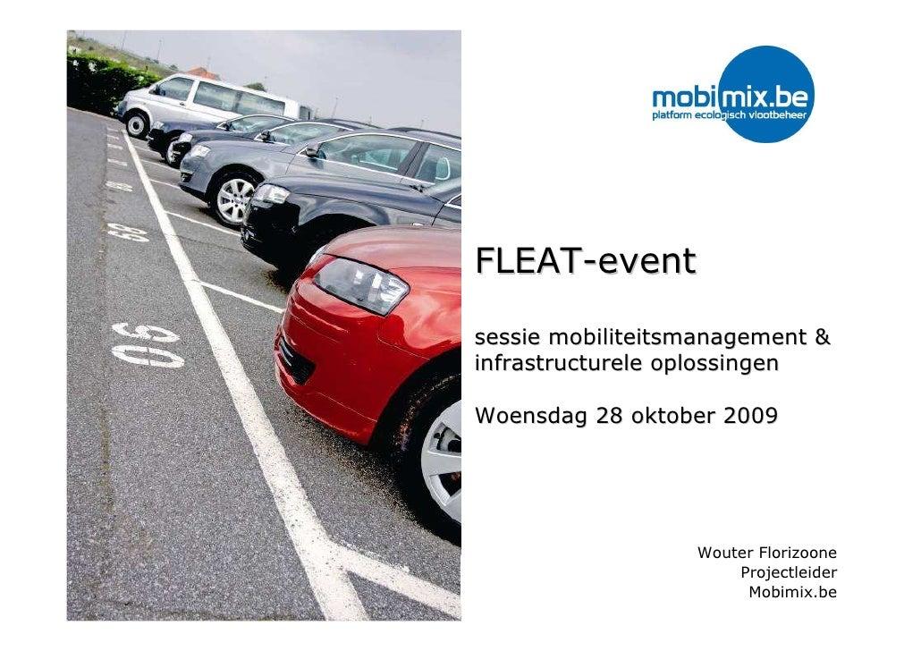 Mobimix en parkeermanagement