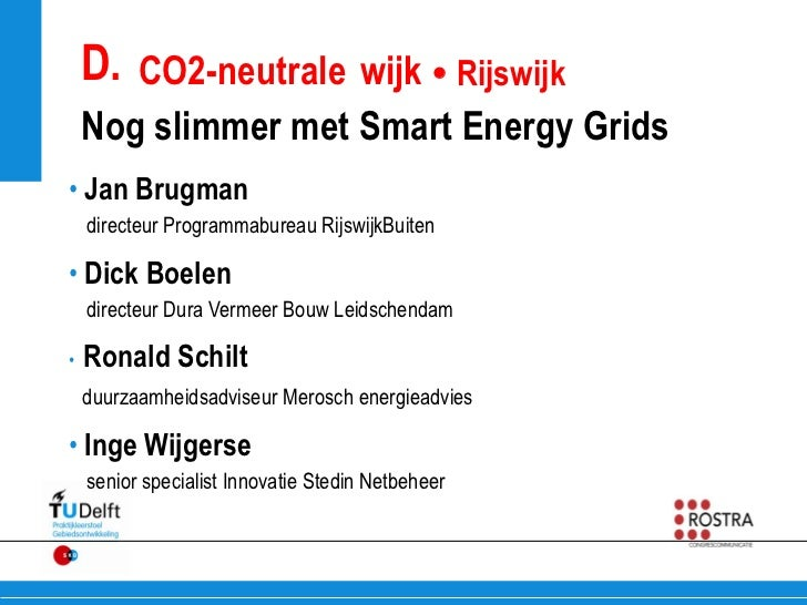 Nog slimmer met Smart Energy Grids