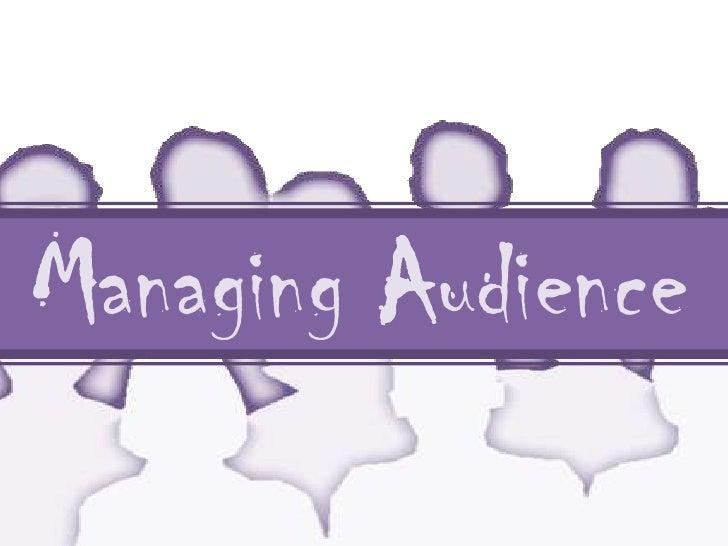 Audience Management