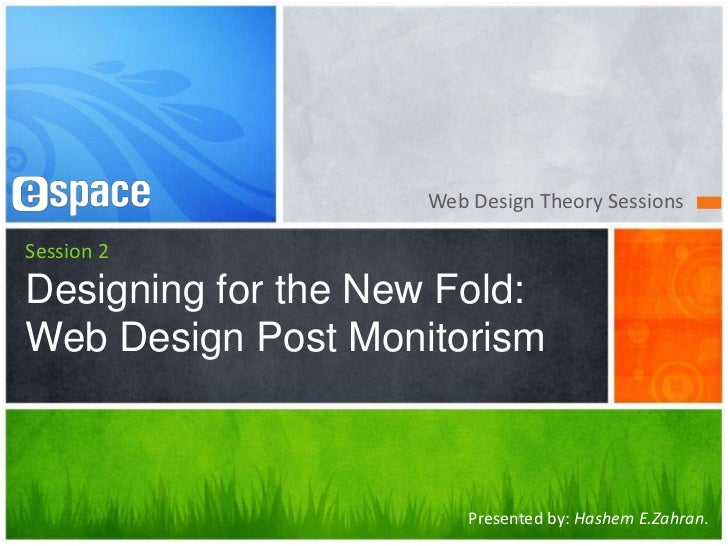 Designing for the New Fold