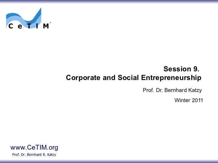 Session09 corporate andsocialentrepreneurship