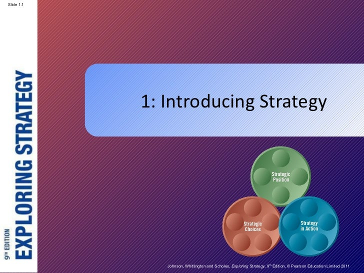 1: Introducing Strategy