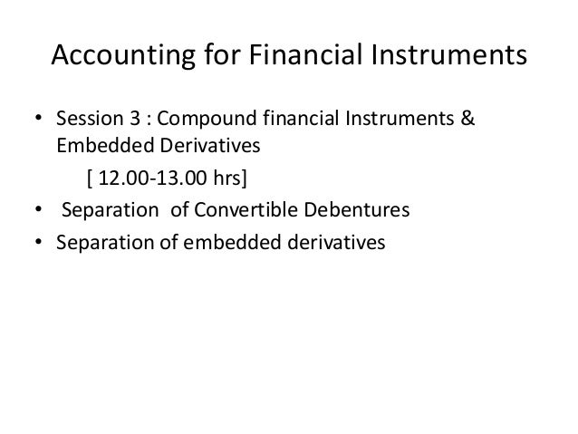 Accounting Derivatives Definition