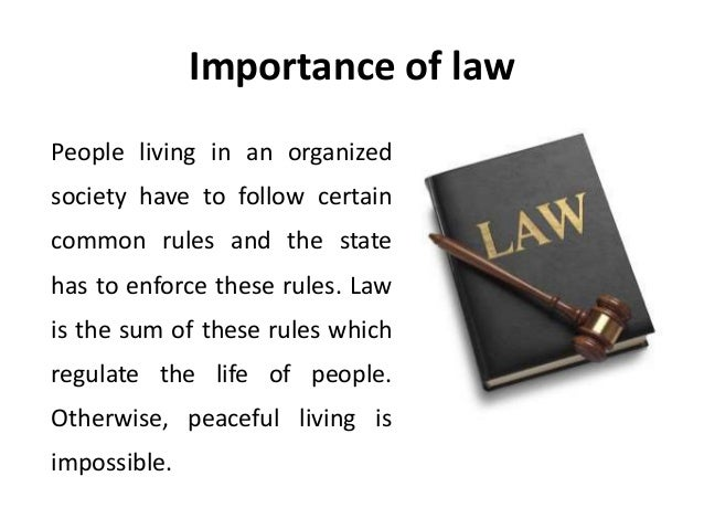 importance of business law Importance of consideration the courts will not enforce a simple contract unless it is supported by valuable  acca –paper 22 corporate & business law).