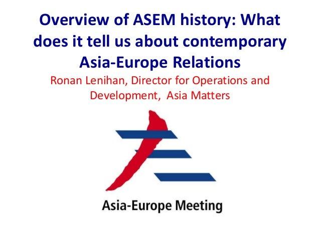 Ronan Lenihan - ASEM