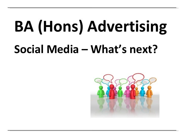 What is the future for social media??