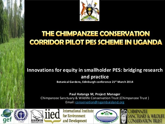Innovations for equity in smallholder PES: bridging research and practice Botanical Gardens, Edinburgh conference 21st Mar...