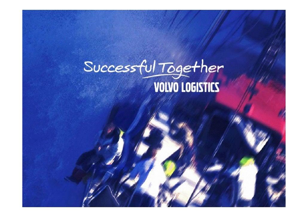 Volvo LogisticsDay1