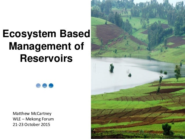 ecosystem based management Ecosystem-based management is an environmental management approach that recognizes the full array of interactions within an ecosystem, including humans, rather than considering single issues, species, or ecosystem services in isolation.