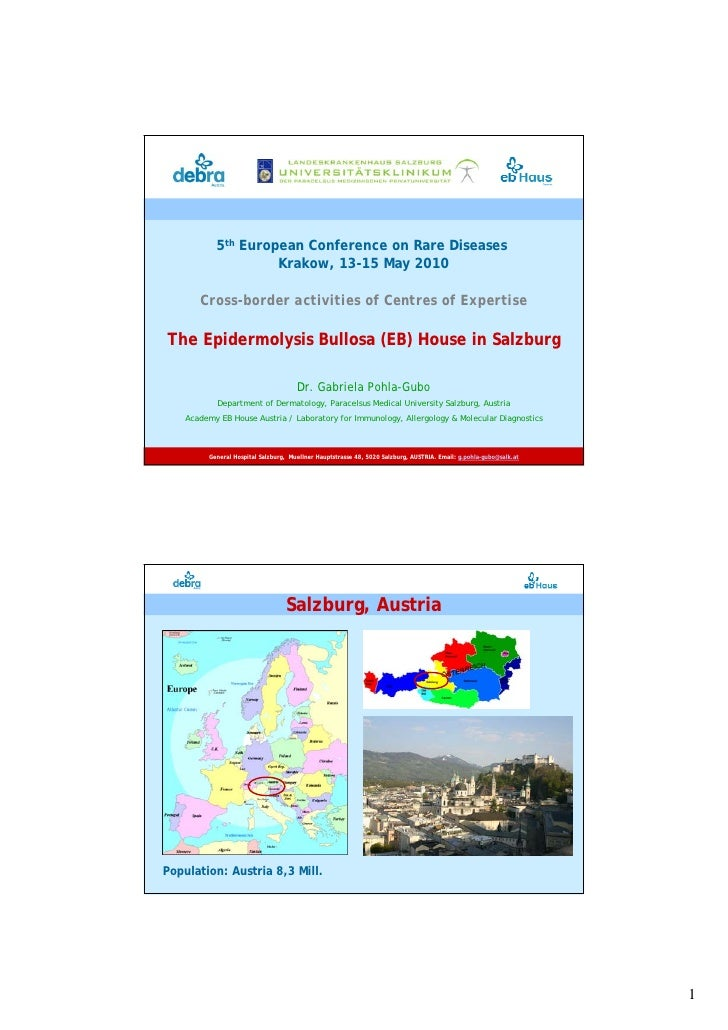 5th European Conference on Rare Diseases                     Krakow, 13-15 May 2010         Cross-border activities of Cen...