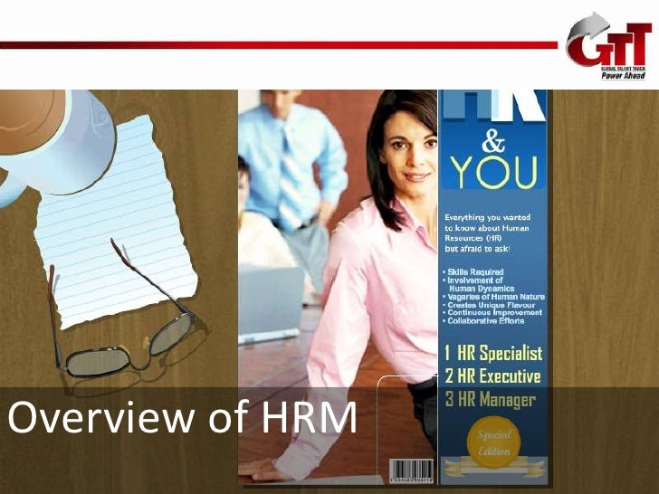 HR-Session 1 Overview of HRM