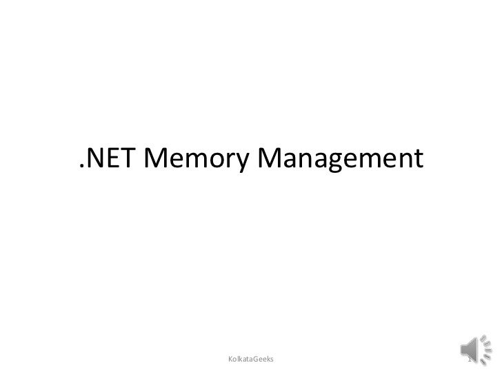 Memory Management & Garbage Collection