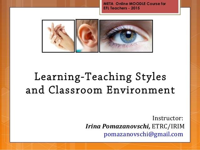 New Fangled Teaching Strategies?