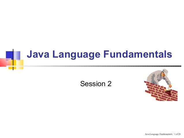 Learn Java language fundamentals with Unit nexus