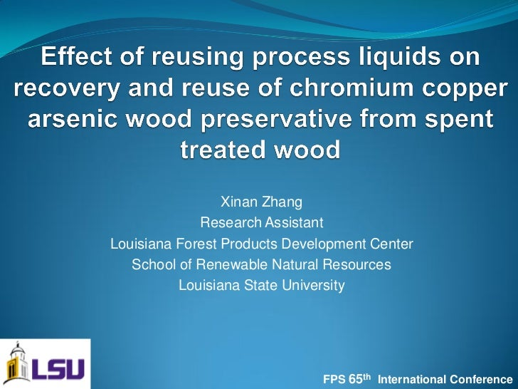 Xinan Zhang             Research AssistantLouisiana Forest Products Development Center   School of Renewable Natural Resou...