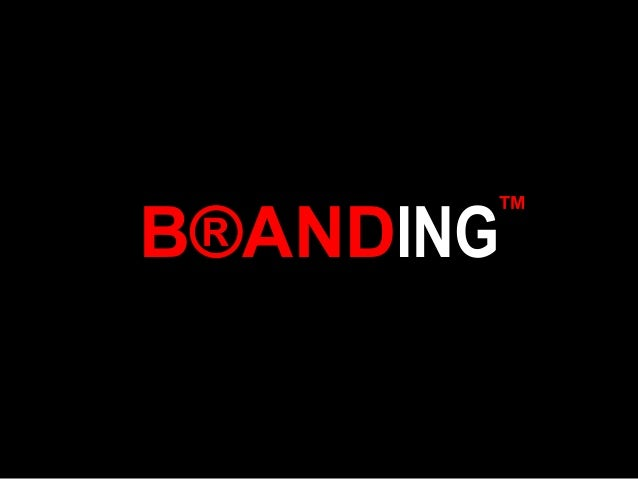 Session 2, creating brand value 2012 2013