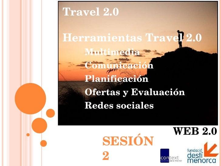 Turismo, Destinos y Web 2.0 | sesión 2