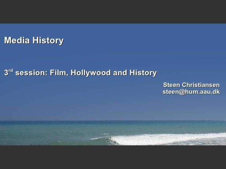 Media History 3