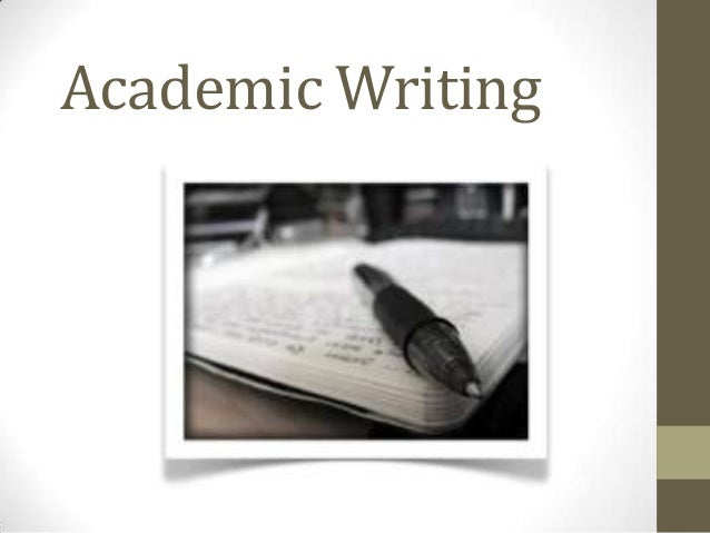 Session 3 - Academic Writing