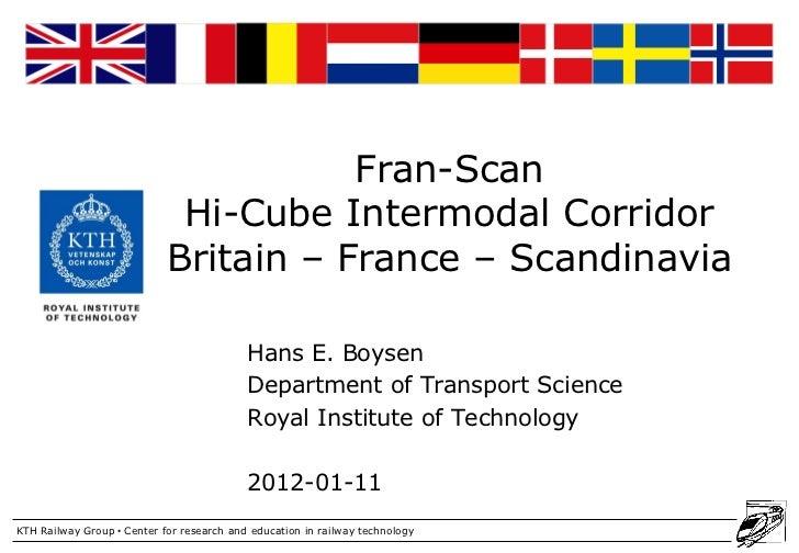 Railway Group                                       Fran-Scan                             Hi-Cube Intermodal Corridor     ...