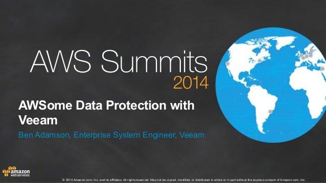 AWSome Data Protection with Veeam