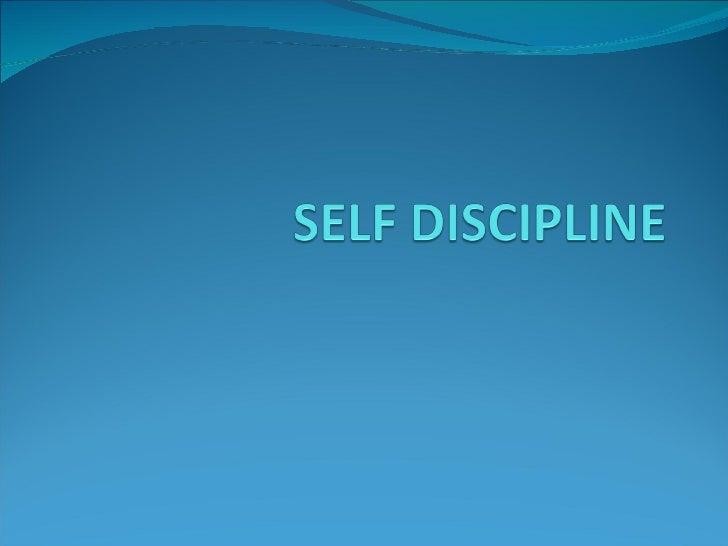 Session 4 discipline ( SMS )