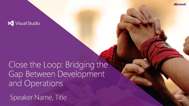 DevOps - Bridging the gap between development and operations