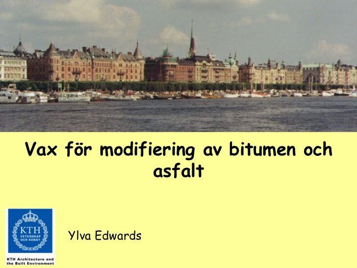 Session 67 Ylva Edwards