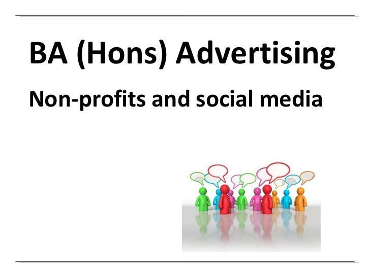 Social Media and Non Profits