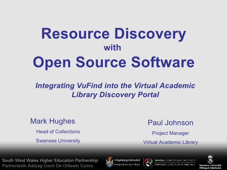 Session 7 - Implementing VuFind in a HE partnership setting