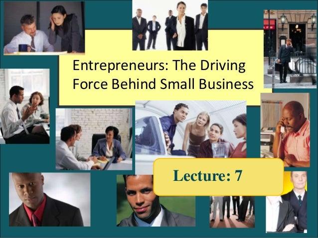 GENN001 Spring 2013 Session #7 Entreprenuership