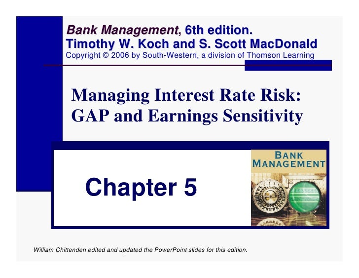 Bank Management, 6th edition.                 Management            Timothy W. Koch and S. Scott MacDonald            Copy...