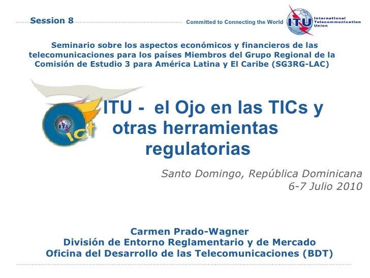 Sesión 8: Mejoras en la base de datos El Ojo en las TIC: Políticas tarifarias