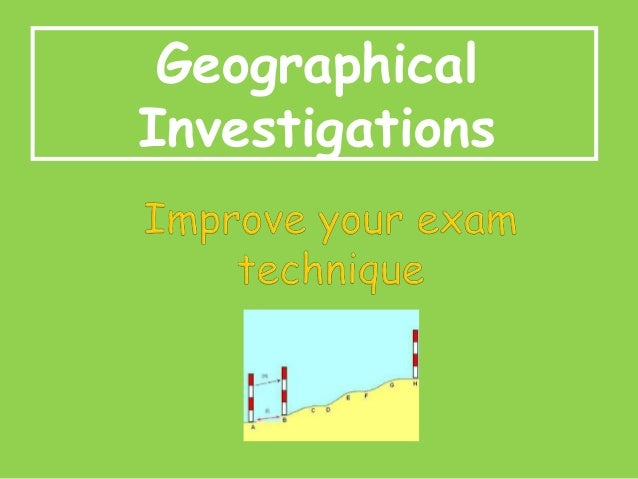 Geographical Investigations