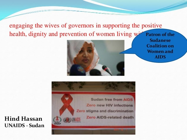 engaging the wives of governors in supporting the positive health, dignity and prevention of women living with Patron of t...