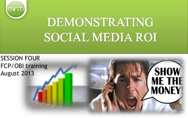 How to calculate the ROI of social media activities