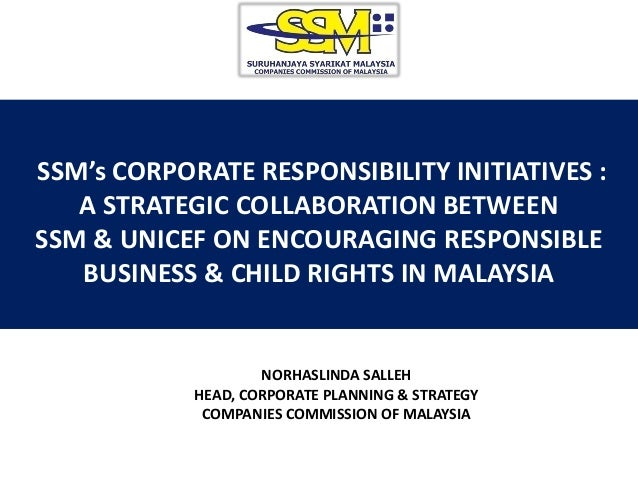 Session on corporate social responsibility   norhaslinda salleh
